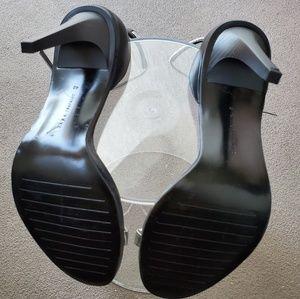 Zara Shoes - Zara Silver Metallic Heels